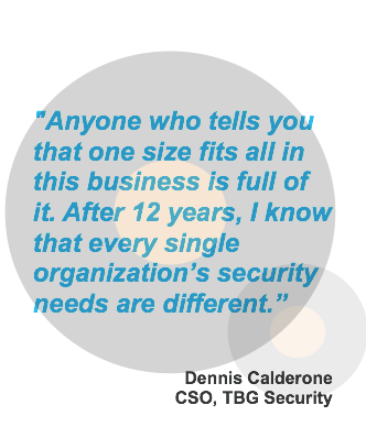 Denis Calderone quote in information security