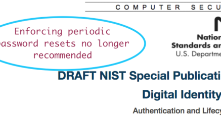 We've all got password fatigue, but are NIST's new policies wise?